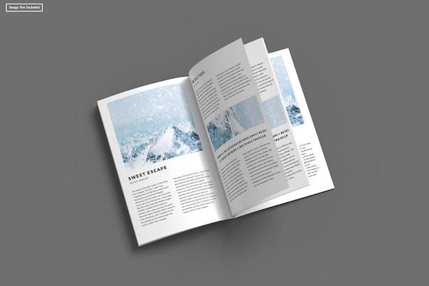 Mockup di rivista a4