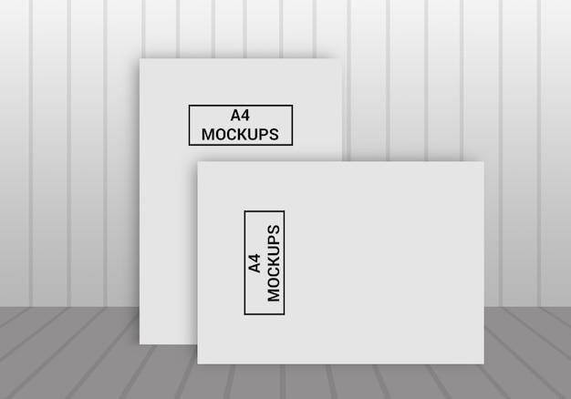 Pagina a4 mock-up