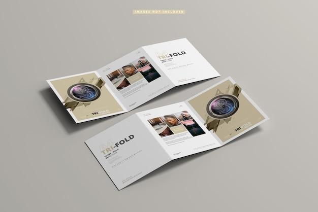 Brochure pieghevole in formato a4