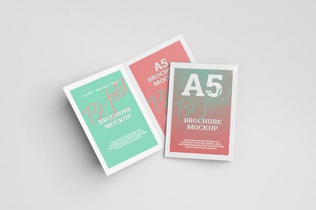 Modello di brochure pieghevole in formato a5