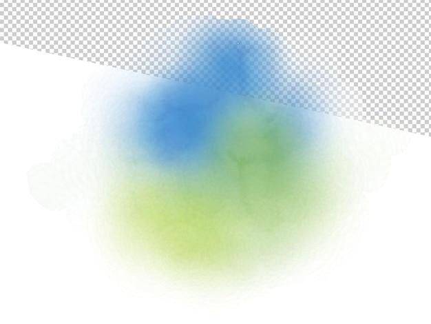 Illustrazione variopinta dell'acquerello del fondo astratto.