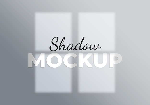 Concetto astratto della luce del modello dell'ombra della finestra del fondo su un wall . bianco