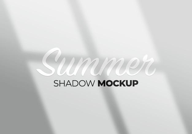 Modello astratto dell'ombra della finestra dello sfondo