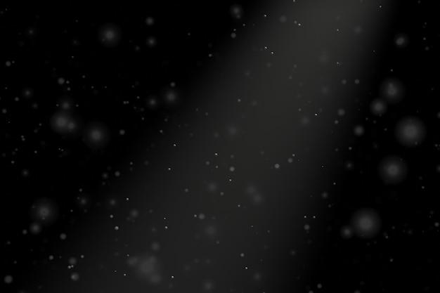 Sfondo astratto polvere con luce scura