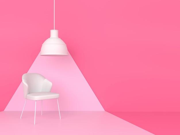 Concetto di stile moderno minimal di colore pastello di forma geometrica astratta