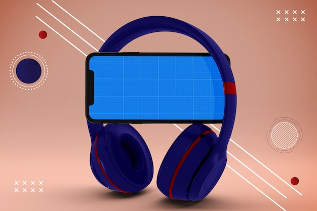 Estratto mobile music app mockup