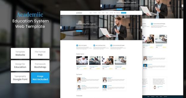 Modello web di formazione accademica