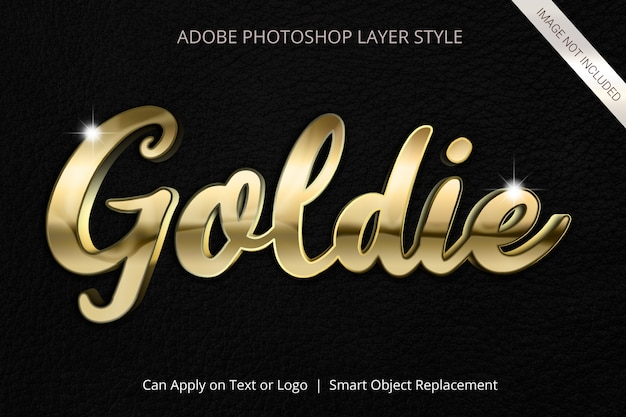 Adobe photoshop layer style text effect