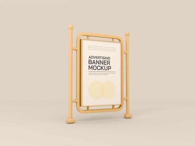 Modello di stand pubblicitario