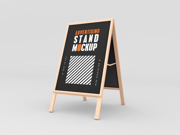 Mockup di stand pubblicitario