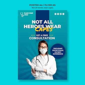 Non tutti gli eroi indossano il modello di concetto dei mantelli