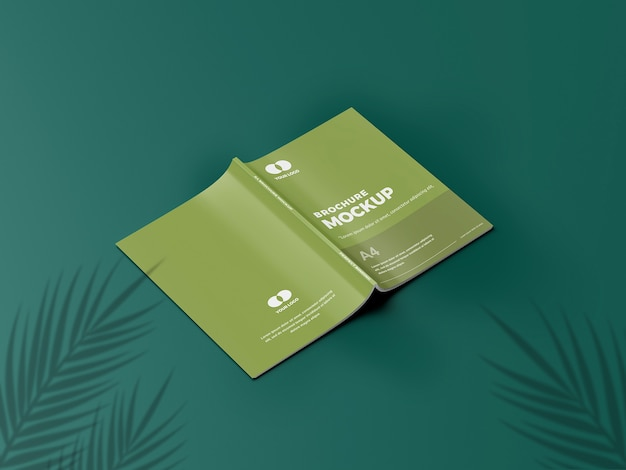 Mockup di brochure incredibile
