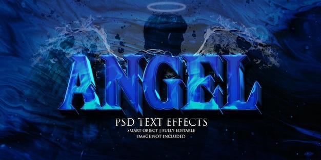 Effetto testo angelo