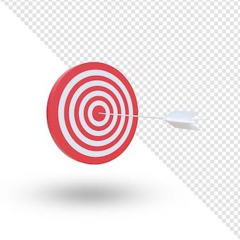 Freccia al centro del tabellone