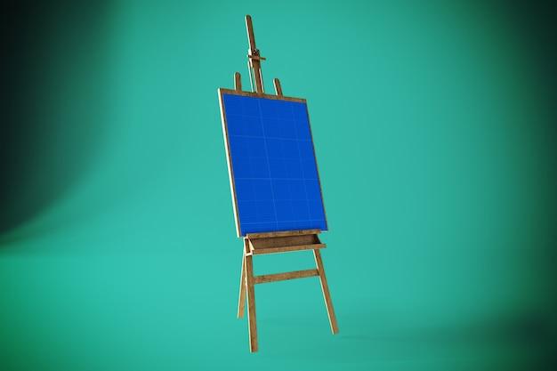 Art canvas mockup