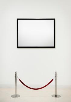 Concetto antico del blocco per grafici della galleria di arte Psd Premium