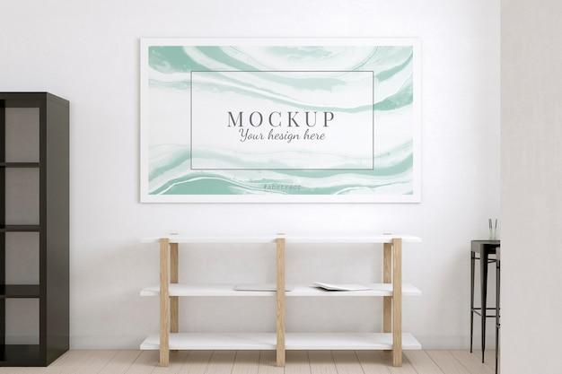 Camera dell'artista decorata