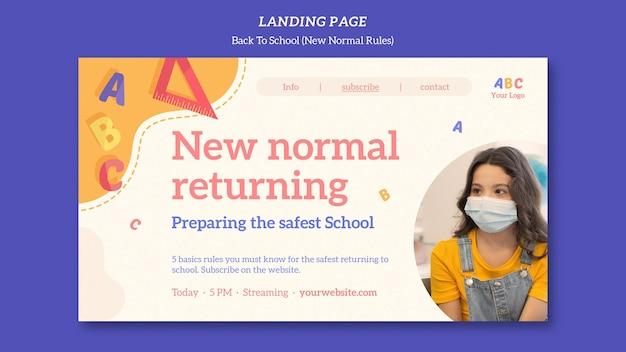 Torna alla pagina di destinazione del modello di scuola