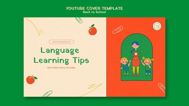 Ritorno a scuola copertina youtube