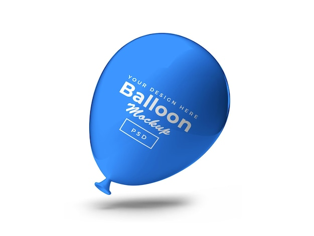 Palloncino 3d mockup design