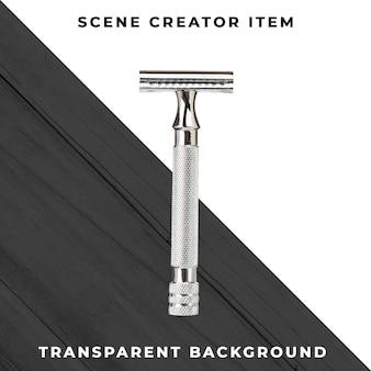 Rasoio accessorio per barbiere su psd trasparente