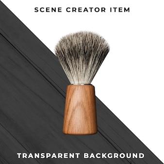 Accessorio da barbiere su trasparente