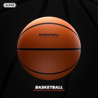 Rendering 3d di basket