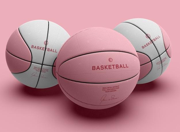 Mockup di pallacanestro