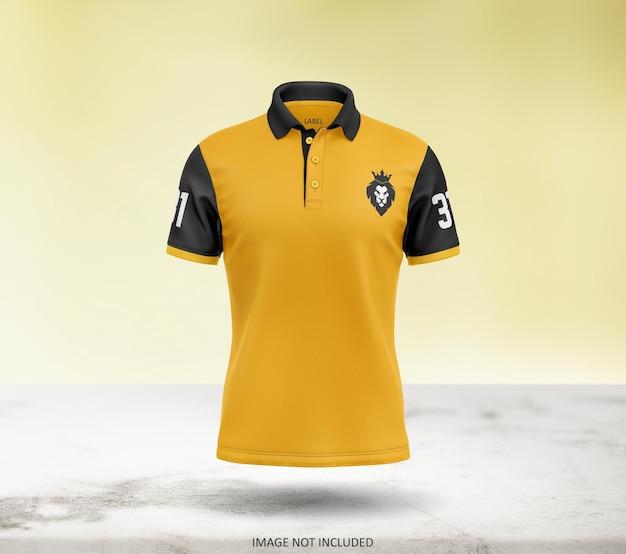 Bellissimo design mockup di t-shirt polo