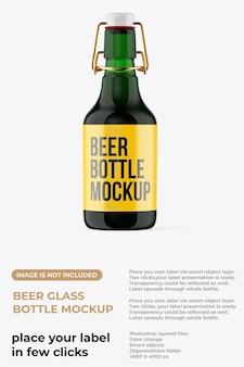 Modello di bottiglia di birra