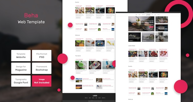 Beha blog modello web