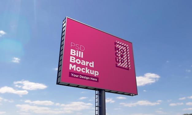 Modello di billboard mockup
