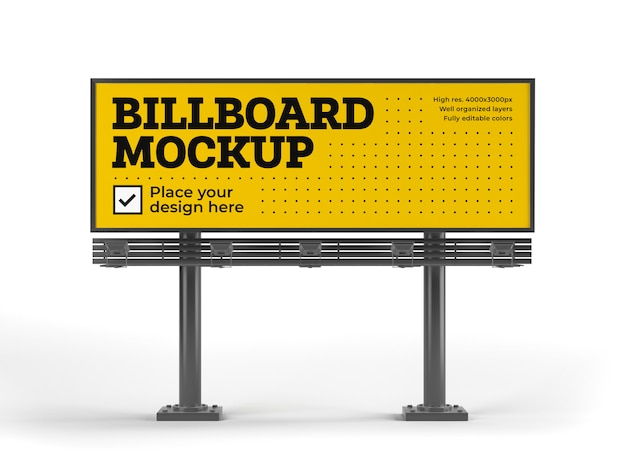 Mockup cartellone