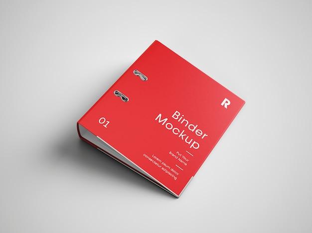 Mockup di copertina del raccoglitore