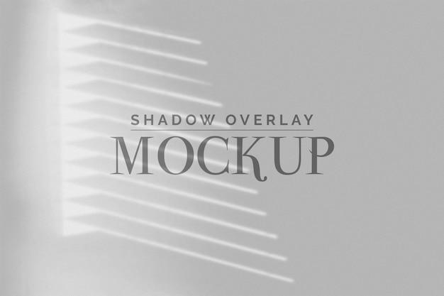 Blind ombra sovrapposizione mockup