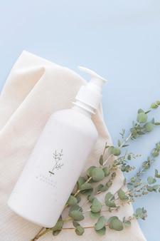 Design della bottiglia per il lavaggio del corpo