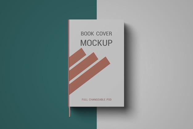 Progettazione di mockup di copertina del libro isolato