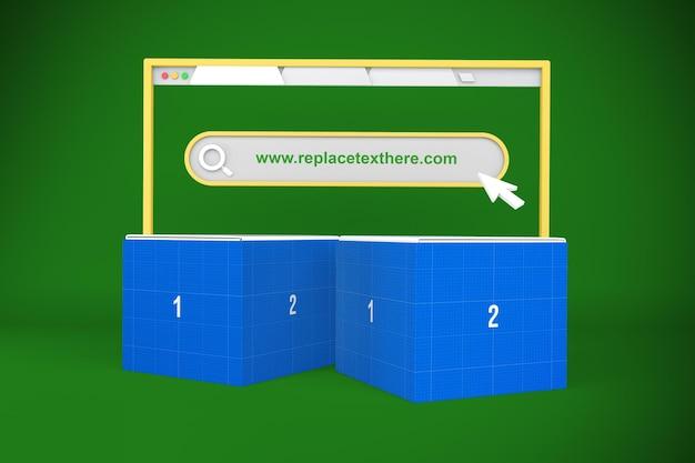 Sito web della scatola