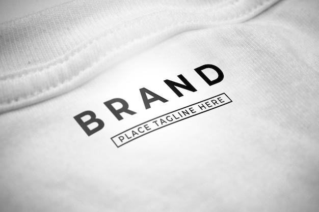 Mockup del logo del marchio