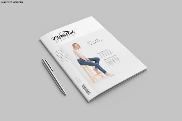 Brochure bifold mockup design