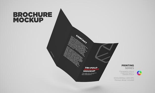 Mockup del concetto di brochure
