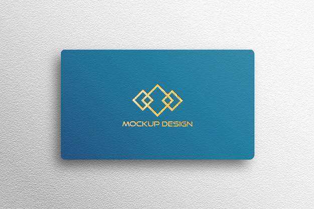 Mockup logo biglietto da visita