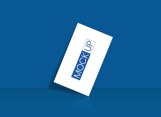 Mockup di modello di biglietto da visita