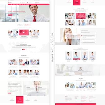 Modello web aziendale