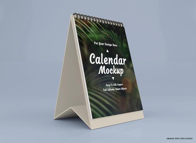 Calendario mockup design isolato design isolato
