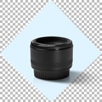 Obiettivo fotografico della fotocamera su sfondo trasparente