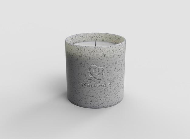 Mockup di candela