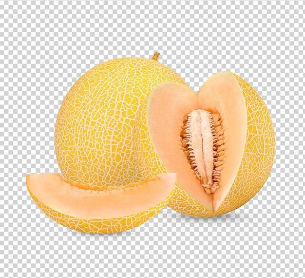 Cantalupo isolato psd premium