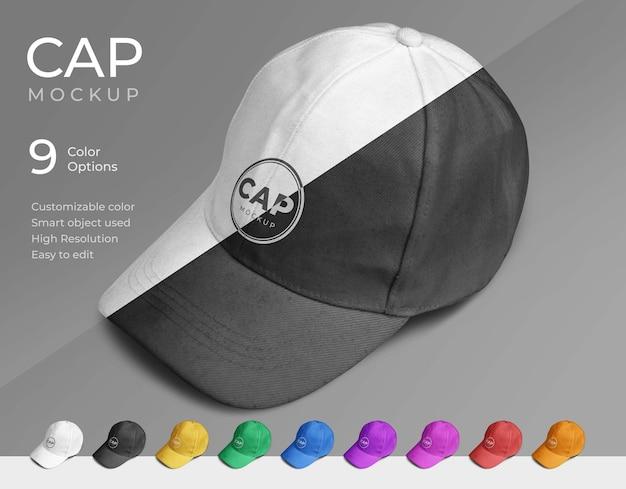 Cap mockup design