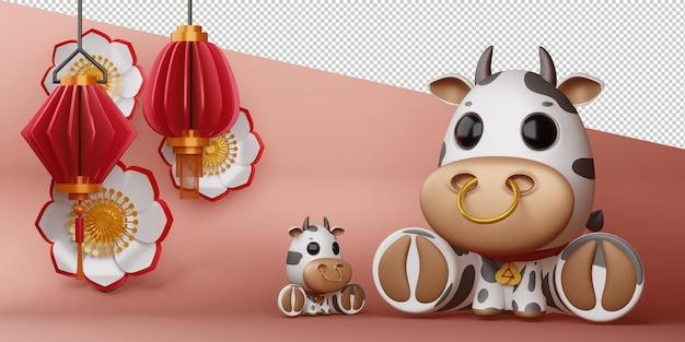 Capodanno cinese, anno del bue.